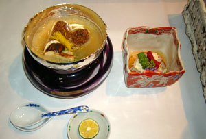 【日本料理 なだ万様】固形燃料の代替として使用